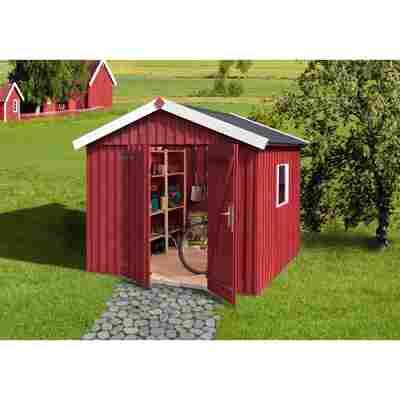 Gartenhaus 'Schwedenhaus' schwedenrot, Größe 3