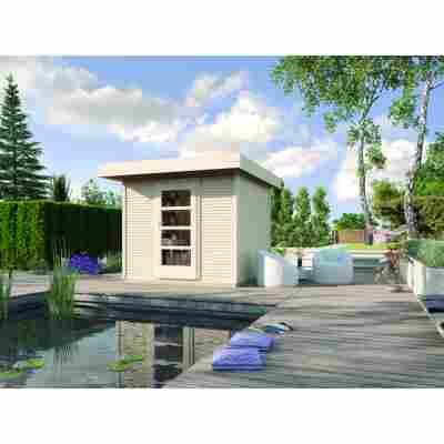 Premium-Design-Gartenhaus 'Fineline' Größe 1
