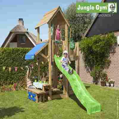 Spielturm Jungle Mansion & Picknicktisch 120 cm breit