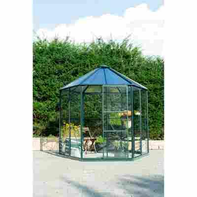Garten-Pavillon 'Hera 4500' smaragd 221 x 257 x 253 cm
