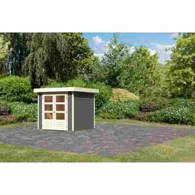 Gartenhaus 'Dornhan 2' 501 x 217 x 211 cm (BxTxH) terragrau