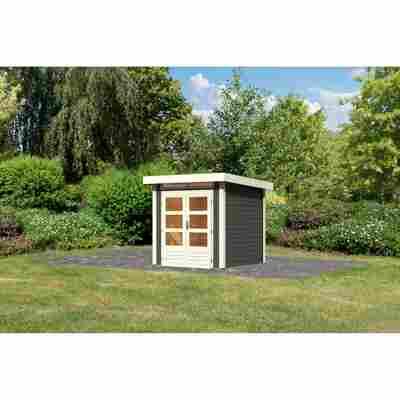 Gartenhaus 'Brodten 1' 204 x 204 x 222 cm terragrau