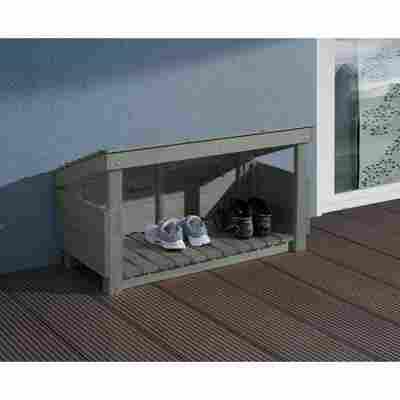 Schuh- und Stiefelbox grau 102 x 59 x 48 cm