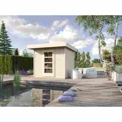 Gartenhaus '172' 235 x 240 cm, naturfarben