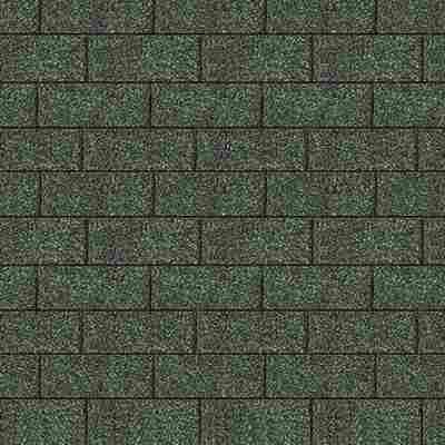 Dachschindeln Rechteck dunkelgrün