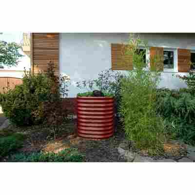 Hochbeet 'Vita 858' rund, rubin, 82 x 82 x 86 cm