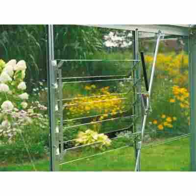 Fensteröffner 'Sesam Liberty' aluminiumfarben für Lamellenfenster