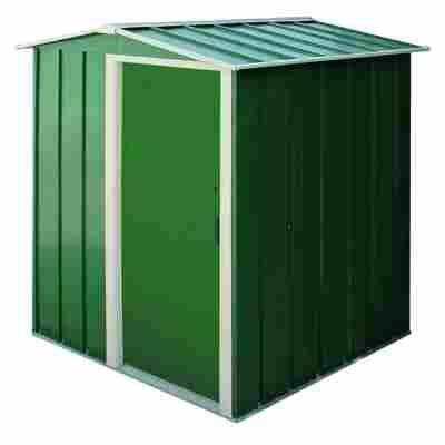 Metallgerätehaus 'Eco' grün 162 x 122 x 182 cm