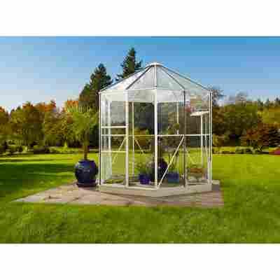Garten-Pavillon 'Hera 4500' weiß 221 x 257 x 253 cm