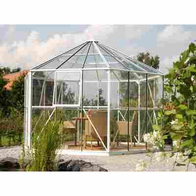 Garten-Pavillon 'Hera 9000' weiß 336 x 278 x 383 cm