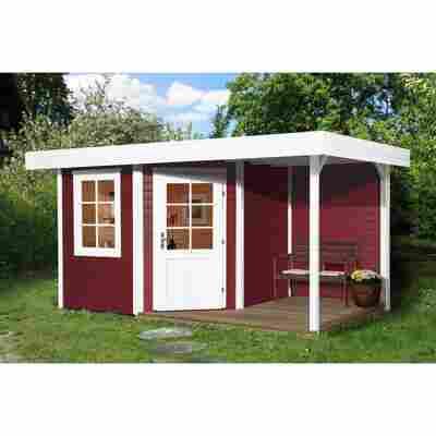 Gartenhaus '213 A+' 385 x 238 cm, rot