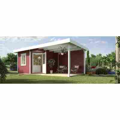Gartenhaus '213 B+' 533 x 238 cm, rot