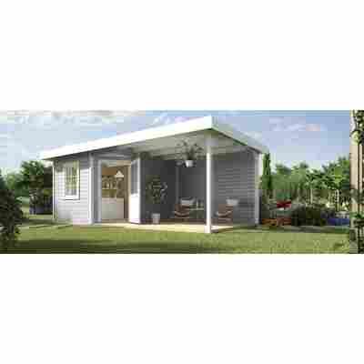 Gartenhaus '213 B+' 533 x 238 cm, grau