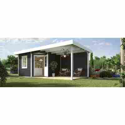 Gartenhaus '213 B+' 593 x 298 cm, anthrazit