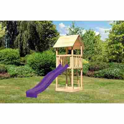 Spielturm 'Lotti' 107 x 291 cm naturbelassen