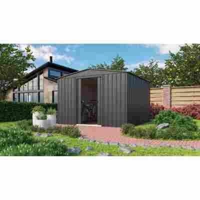Metallgerätehaus 'Dream G1010' anthrazit 295 x 299 cm