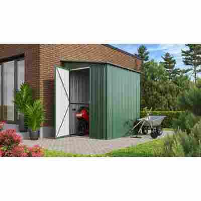 Anlehn-Gerätehaus 'Lean-To L56' jadefarben 144 x 171 cm