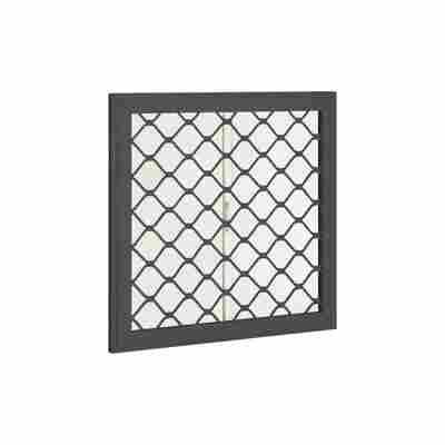 Seitenfenster für Gerätehäuser anthrazit 62 x 62 cm
