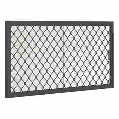 Seitenfenster für Gerätehäuser anthrazit 75 x 124 cm
