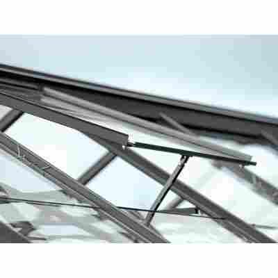 Dachfenster für Gewächshäuser, Aluminium, anthrazit 61,6 x 57,3 cm