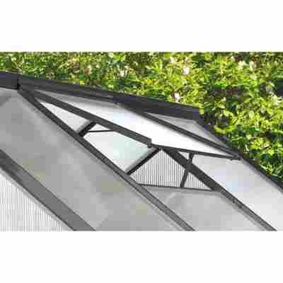 Dachfenster für Gewächshaus 'Calypso' Aluminium anthrazit 73,6 x 57,3 cm