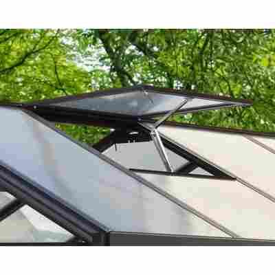 Dachfenster für Gewächshaus 'Zeus' Aluminium schwarz 73 x 70 cm