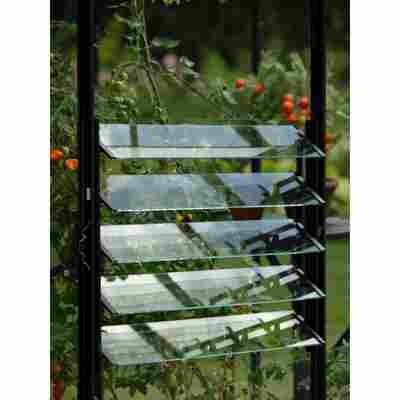 Lamellen-Wandfenster für Gewächshäuser '5200-7800' schwarz