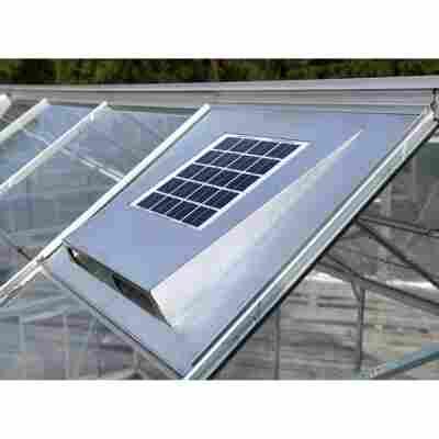 Solar-Dachventilator für Gewächshäuser 61 x 55,9 x 5,5 cm