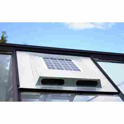 Solar-Dachventilator für Gewächshäuser 87 x 55,5 x 5,5 cm