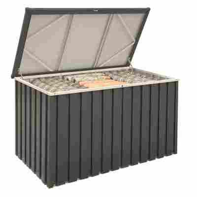 Gerätebox anthrazitfarben Metall 133,8 x 72,7 x 73 cm