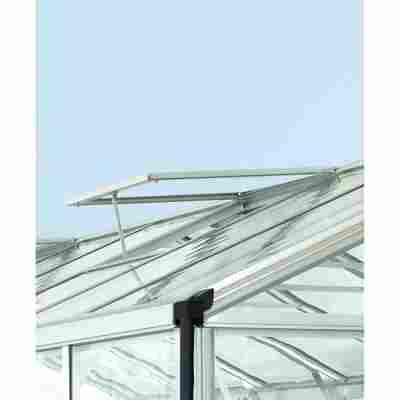 Alu-Dachfenster für Gewächshaus 'Zeus Comfort' silber 70 x 72,9 cm