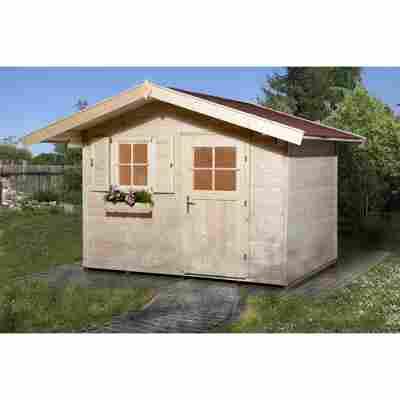 Gartenhaus '123' naturfarben, 301 x 235 cm