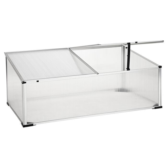 Doppelte Aluminium Tisch 150x60