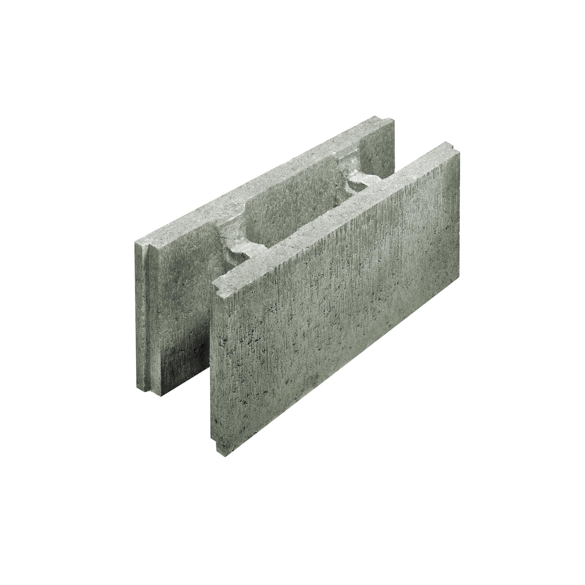 Lusit Schalungsstein 50 X 17 5 X 25 Cm Grau ǀ Toom Baumarkt