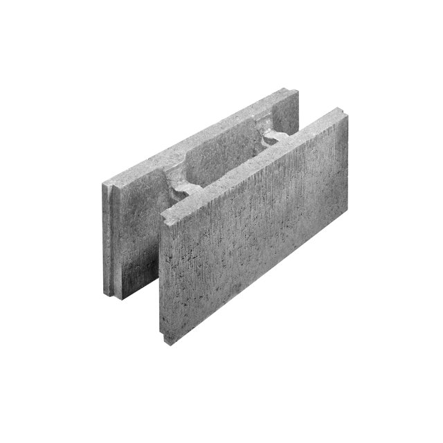 Lusit schalungsstein grau 50 x 17 5 x 25 cm toom baumarkt for Schalungssteine toom