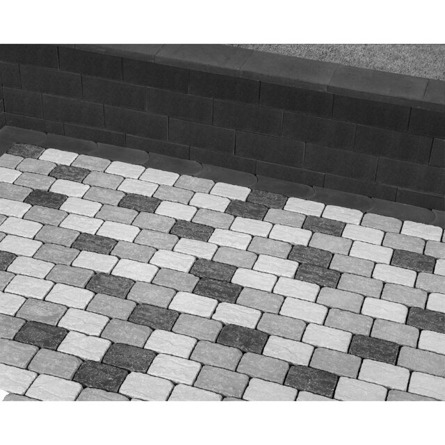 Lusit Multistein \'Bellamur Mini\' anthrazit 40 x 20 x 16,5 cm ǀ toom ...