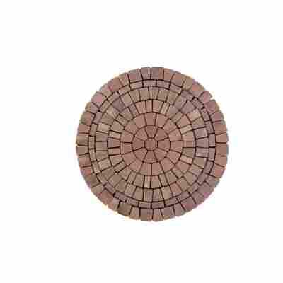 Pflasterstein 'Capriccio Altstadtpflaster' Ø 168 x 6 cm braun-melange