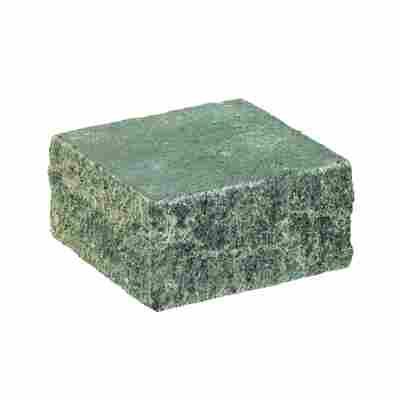 Mauerstein 'Spaltino' 24 x 24 x 12,5 cm grau-anthrazit-melange