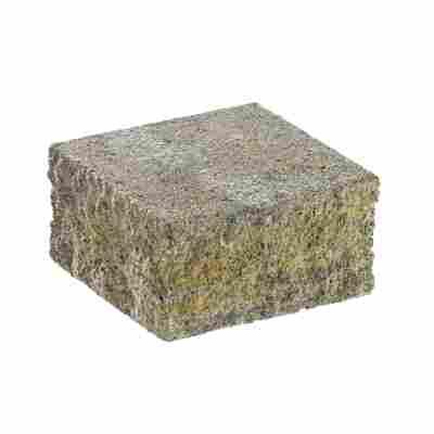 Mauerstein 'Spaltino' 24 x 24 x 12,5 cm muschelkalk