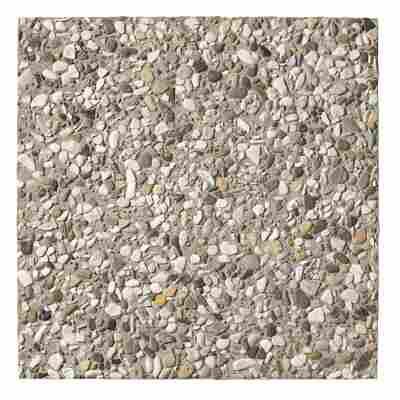 Waschbetonplatte Leinekies 50 x 50 x 5 cm