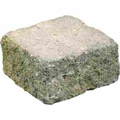 Mauerstein 'Spaltino Antik' 24 x 24 x 12,5 cm muschelkalk