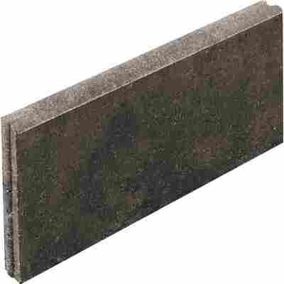 Raseneinfassung 'Rasenbord' beidseitig abgerundet 5 x 25 x 50 cm anthrazit