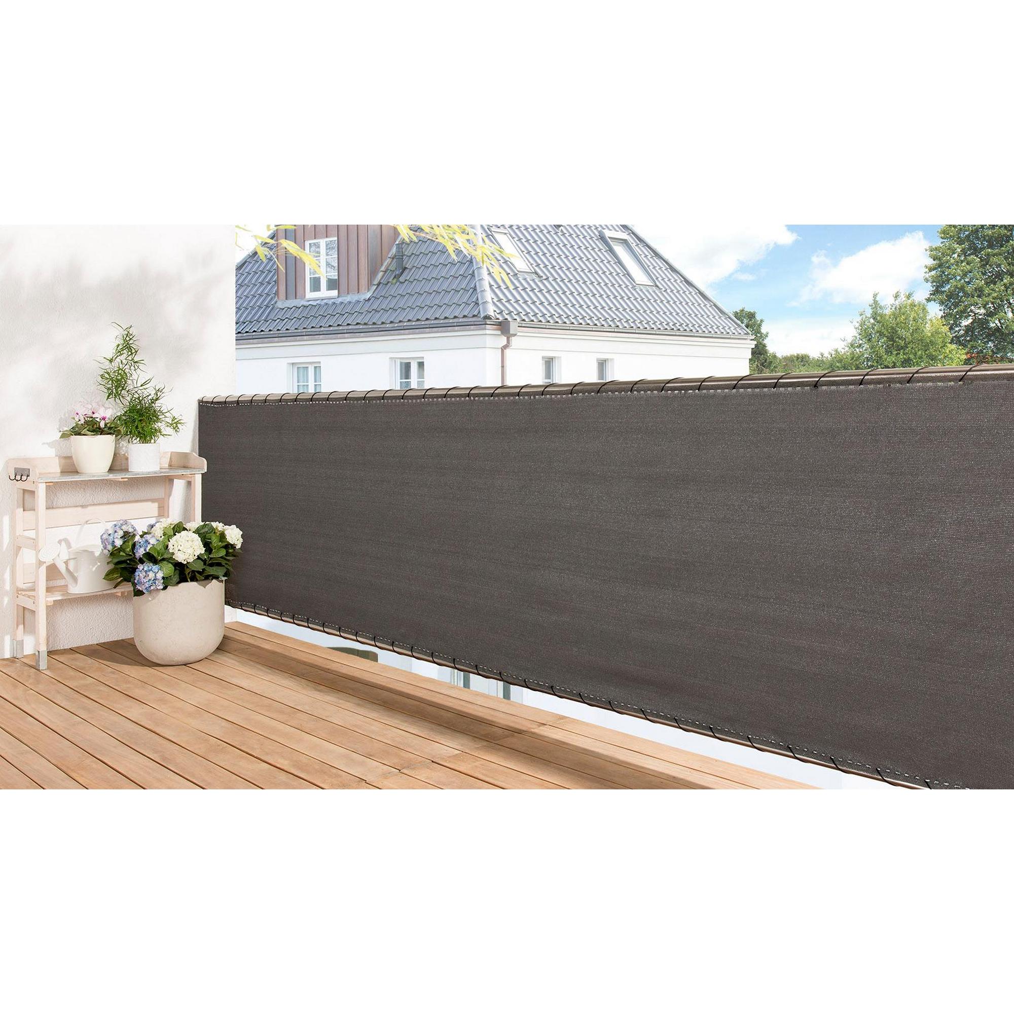 Balkonverkleidung 500 X 180 Cm Grau ǀ Toom Baumarkt