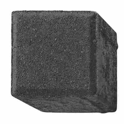 Pflasterstein 10 x 10 x 8 cm anthrazit
