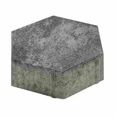 Pflasterstein 'Wabe' grau-anthrazit 24,8 x 21,5 x 8 cm