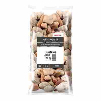Buntkies 25 kg grau 40/80 mm