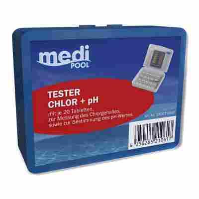 Wasseranalysetabletten für Chlor- und pH-Tester 40 Stück
