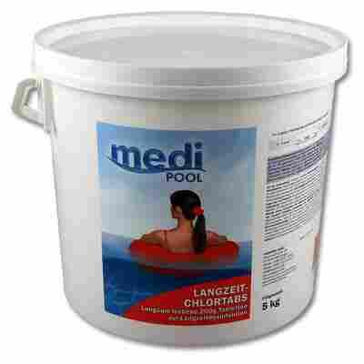 Langzeit-Chlortabs zur Poolpflege 5 kg