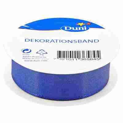 Dekorationsband blau 2,5 x 300 cm