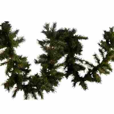 Künstliche Tannengirlande grün 500 cm